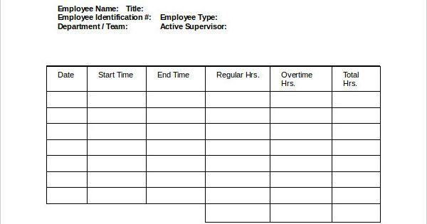 Employee Payroll Time Sheet Template Downloadjpg (600×680    Download Salary Slip