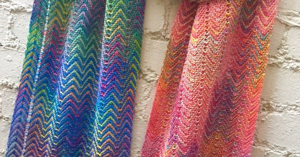 Knitting Goddess Mini Skeins : A combination of varigated sock yarn and rainbow mini