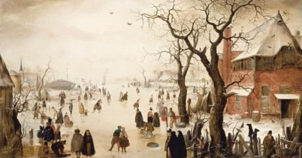 Hendrick Avercamp Winter Landscape St Louis Art Museum Boston Museum Of Fine Arts