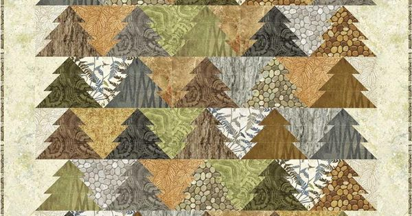 Tessellating Trees Woodland Trees Quilt Pattern By Patti