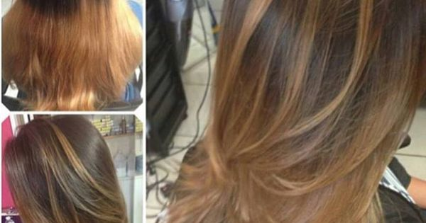 The difference between box color ombre and professional | Ombre Hair ...