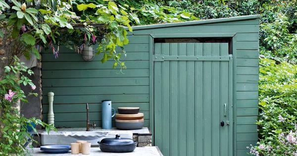 Cr ez une cuisine am ricaine dans votre jardin l aide de for Jardin a l americaine