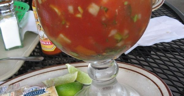 Traditional Mexican Shrimp with Clamato | Shrimp Cocktail ...