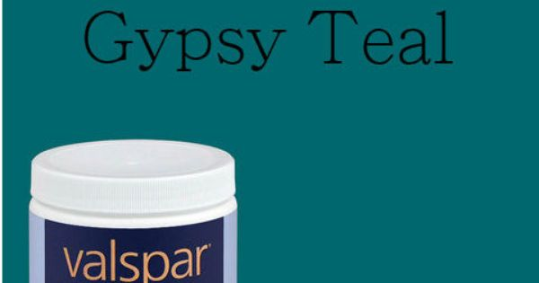 valspar gypsy teal | Paint Colors & other swatches to ...
