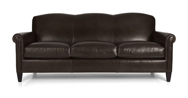 Petrie Leather 100 Grande Sofa Leather Sofas Crates And Leather