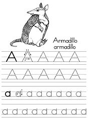 Jan Brett Coloring Traditional Alphabet Tracers Alphabet Preschool Homeschool Writing Preschool Fun