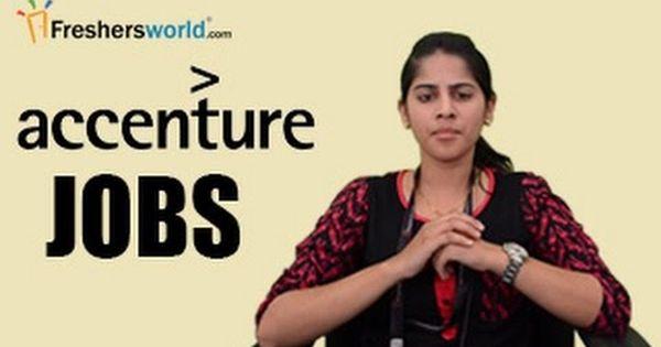 Accenture Recruitment Notifications It Jobs Walkin Career Oppurtunities Campus Placements Job Career Job Portal