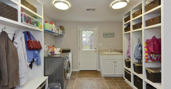 Laundry mud room our basement living ideas pinterest for Basement mudroom ideas