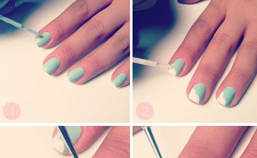 bow nail art diy nail art cute nails easy diy diy nails