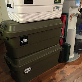 こんばんは D Suke23です 去年の話ですがw 我が家のキャンプ道具収納問題解決として トラスコ中山の トランクカーゴ を購入しました それではいってみましょう キャンプ収納 キャンプ道具 収納 スツール 収納