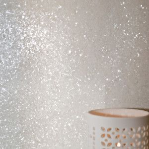 Ivory Glitz Glitter Wall Covering Makeup Room Ideas In