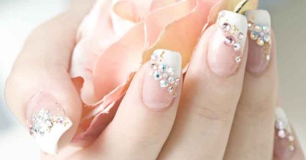beautiful gel nail designs Wedding Nail Designs Ideas