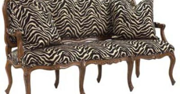 country animal print chair and ottoman 88095