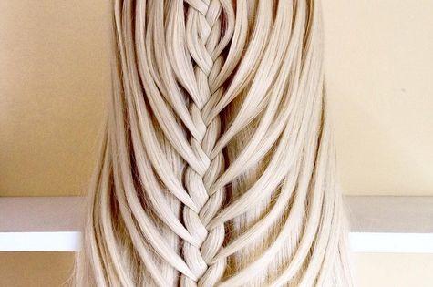 20 easy styles belle waterfall braid pour court moyen et long cheveux tresses en cascade - Tresse en cascade ...
