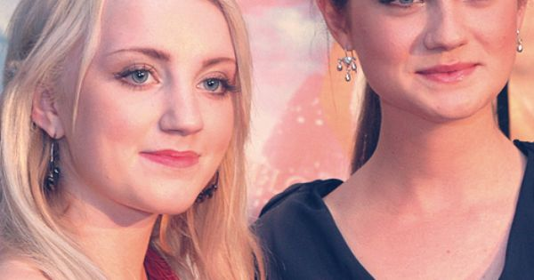 Evanna Lynch & Bonnie Wright