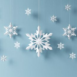 Whether It S A School Project Or You Wish To Decorate The House Or A Christmas T Diy Christmas Snowflakes 3d Paper Snowflakes Christmas Snowflakes Decorations