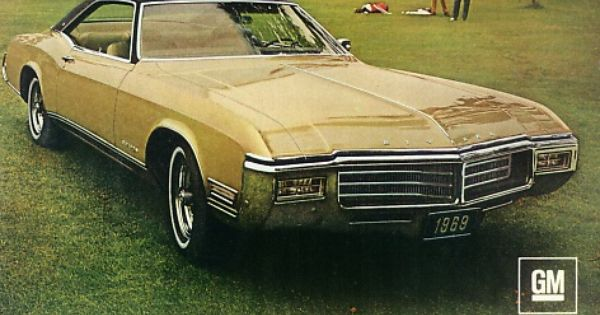 Buick Riviera Vintage Retro ad! FUN! One of the first