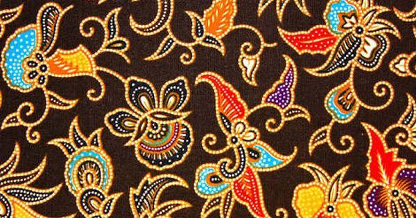 Motif Batik Ikan Koi - Batik Indonesia