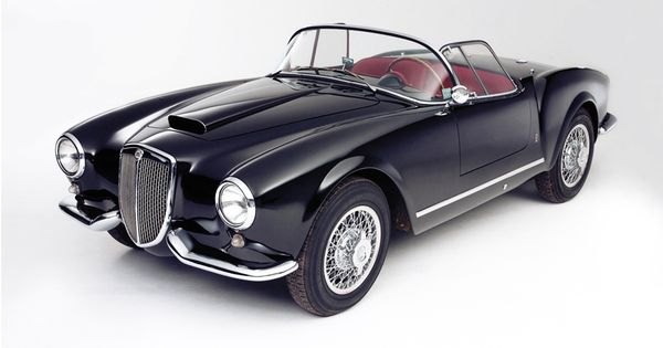 1954 Lancia Aurelia GT celebritys sport cars customized cars sport cars