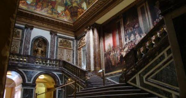 Inside Oldway Mansion Paignton Devon Old Mansions Interior Old Mansions Mansion Interior