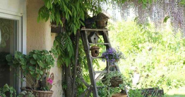 D Coration Jardin En Objets De R Cup Ration En 31 Id Es Jardins Nature Et Chelle