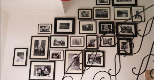mur de cadre photo decoration int 233 rieure comment photos et mariage