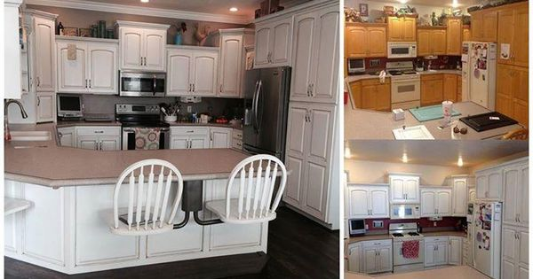 General finishes milk paint snow white cabinets for White milk paint kitchen cabinets