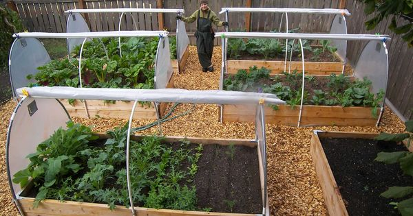 Roll down raised bed covers!!