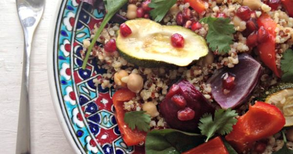 ... dressing | Recipe | Balsamic Dressing, Roasted Vegetables and Quinoa