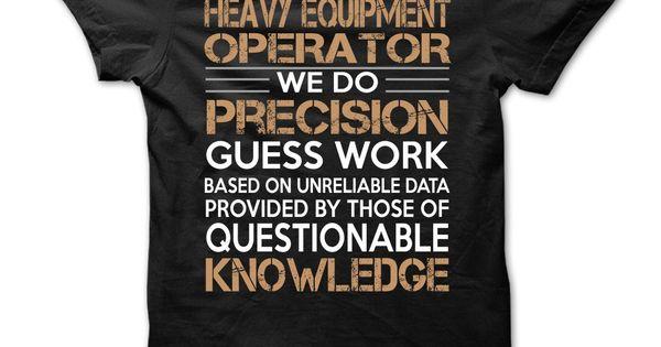 Heavy Equipment ღ Ƹ̵̡Ӝ̵̨̄Ʒ ღ OperatorHeavy Equipment ...