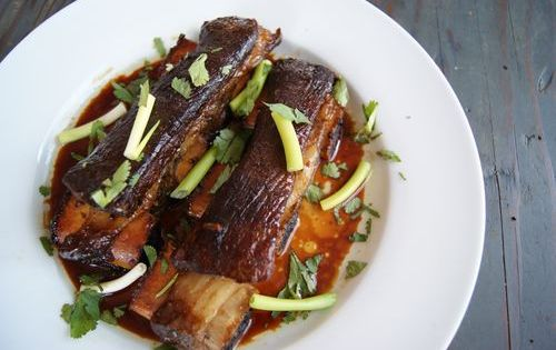 Korean Style Beef Short Ribs Up And Alive Beef Short Ribs Slow Cooker Ribs Short Ribs Slow Cooker