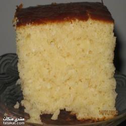 طريقة عمل كيكة جوز الهند هشة وخفيفة طبخ فتكات مطبخ وصفات اكلات Cake Desserts Vanilla Cake