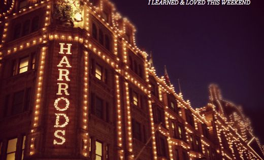 Harrods, London - funny memory - we lost our parents. I thought