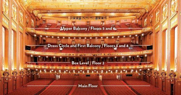 Elegant As Well As Stunning Lyric Opera Chicago Seating Chart Di 2020