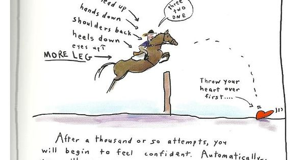 Jumping Lesson. So true