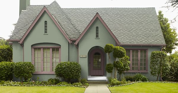 This is the project i created on i used these colors false cypress 430f 4 milk for Behr virtual exterior house painter