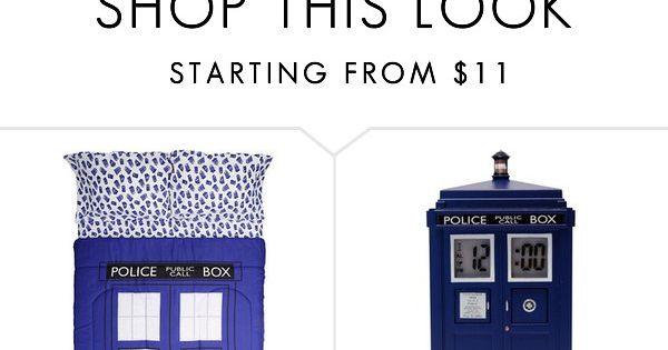 Doctor who bedroom by tardis3254 on polyvore featuring for Doctor who bedroom ideas
