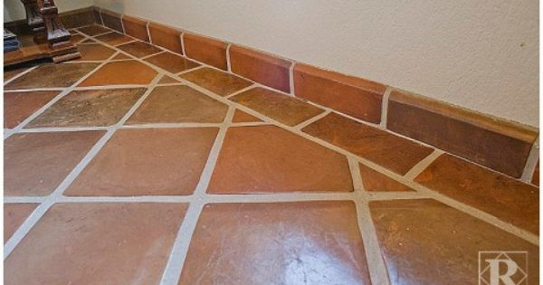 12x12 Super Sealed Manganese Saltillo Tile With Terranano Topcoat Sealer It Is Finished With A 4x12