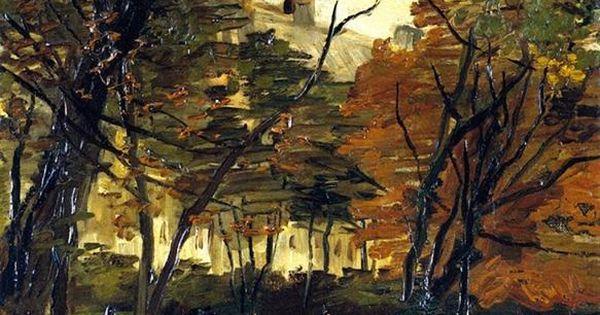 Vincent van Gogh (Dutch, Post-Impressionism, 1853-1890): In the Bois de Boulogne, 1886.