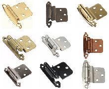 Semi Concealed Cabinet Hinges   Hinges for cabinets, Kitchen ...