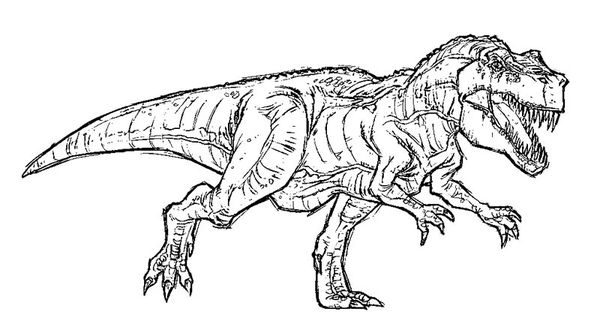 free t rex coloring pages jurassic park t rex coloring pages 4th july pinterest. Black Bedroom Furniture Sets. Home Design Ideas