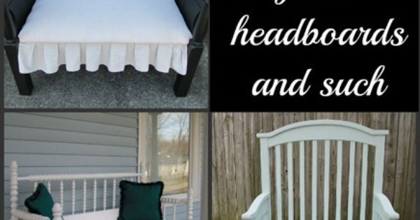 My Repurposed Life DIY::- 25+ headboard benches (tons of tips and tutorials)