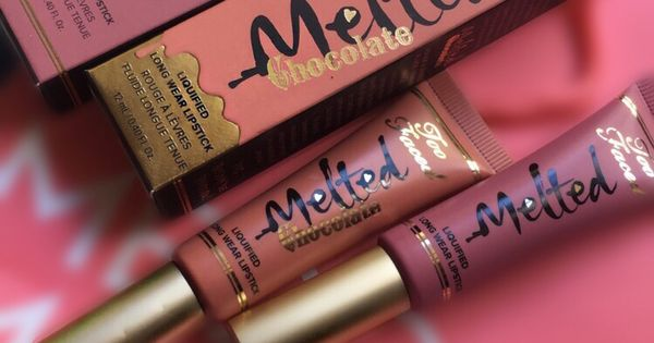 Two Faced Melted Lipsticks Shades In Chocolate Milkshake