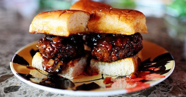 Sliders, Whiskey and Spicy on Pinterest