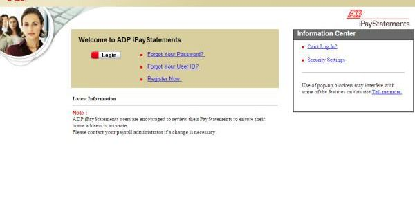 ADP iPay Login to View and Print Pay Stubs Technology