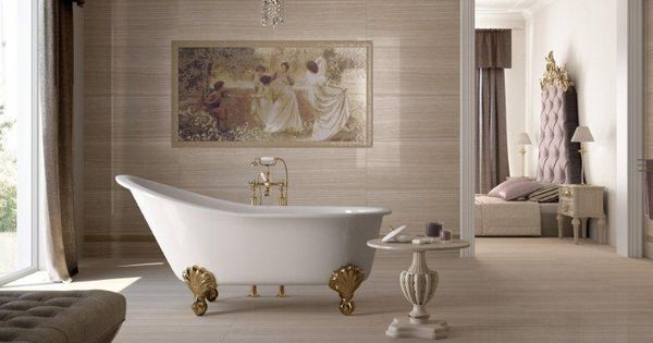 Suelos de cer mica ideales para tu sala de ba o estilo - Suelos de porcelana ...