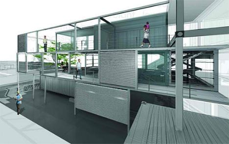 Housing For The Homeless 14 Smart Container Architecture Shipping Container Architecture