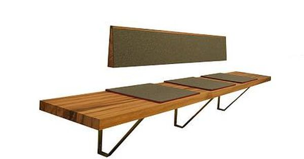3form: kamballa sitzbank | küche | pinterest | dining bench, Esstisch ideennn