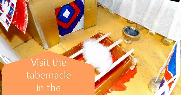 Build a model tabernacle while you study early judaism and for Building the tabernacle craft