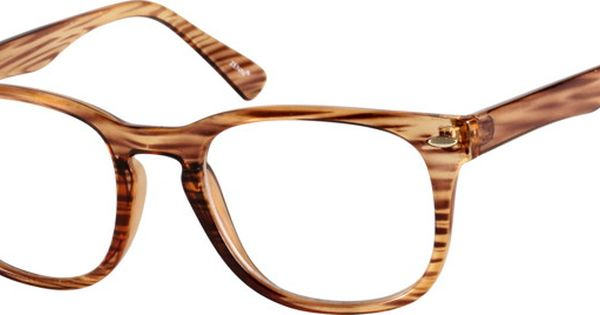 Zenni Optical Glasses Quality : Eyeglasses, Squares and Brown on Pinterest